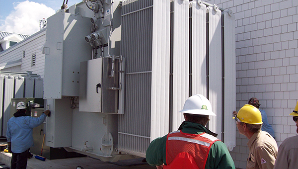 Specialized Transformer Installation