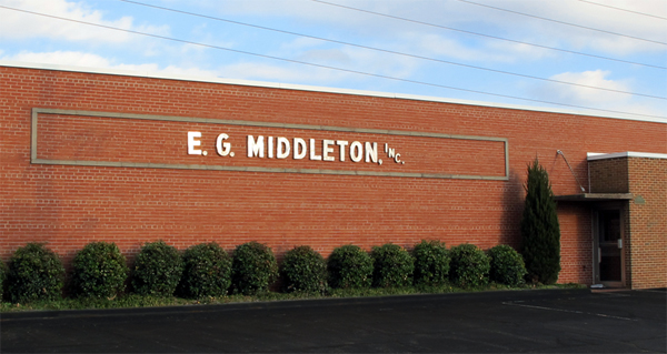 E.G. Middleton Building Exterior